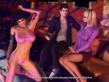 Sexy cartoon game with the best vampire pornos