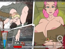 Android military sex simulation with erotic tortures
