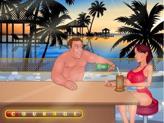 Fetish resort games in BDSM holiday fuck