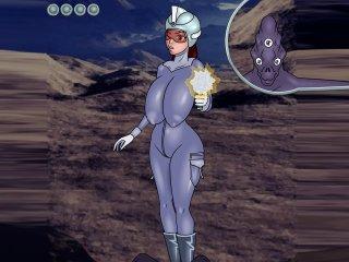 Alien sex game with hentai alien monsters fuck