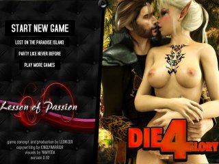 RPG sex game with erotic adventures