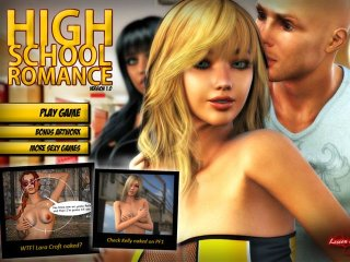 Nude High School game with sexy schoolgirls fucking