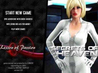 Cosmic girls fuck in sci-fi sex games